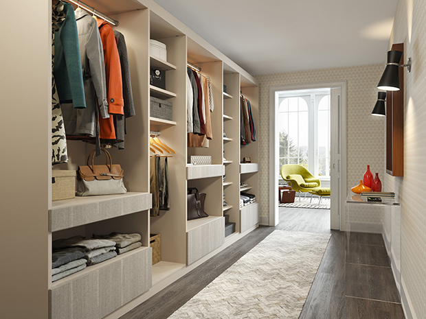 California Closets Greater Phoenix: Walk-Through Wardrobe Closet Storage System
