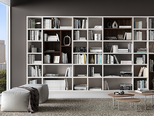 California Closets Louisville - Custom Designed Bookcase