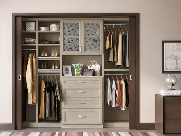 California Closets Westchester - Reach-In Closet Storage System
