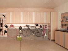 California Closets - Space Saving Storage Cabinets in Garage