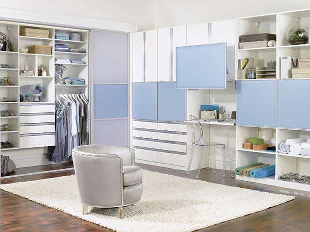 California Closets Ft. Lauderdale - Teen Closet Storage Solution