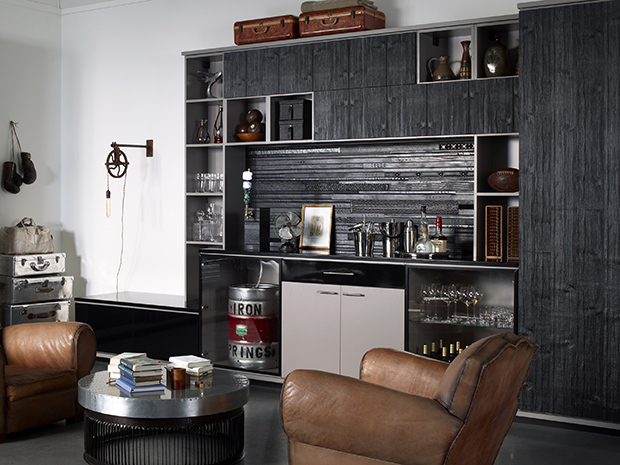 California Closets Albany - Custom Wine Bar System