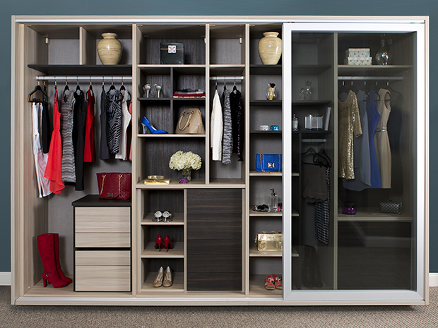 California Closets San Antonio - Wardrobe Storage System