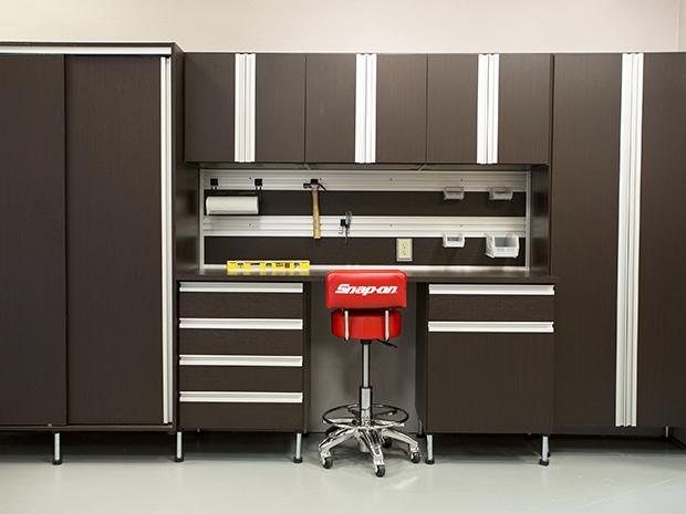 California Closets Rhode Island - Custom Garage Storage Cabinets