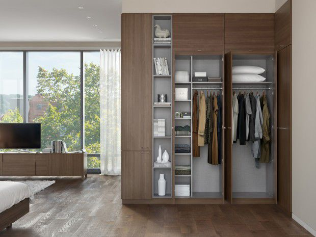 California Closets Birmingham: Soho Built in Wardrobe Storage System
