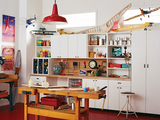 California Closets Boise - Garage Workbench System