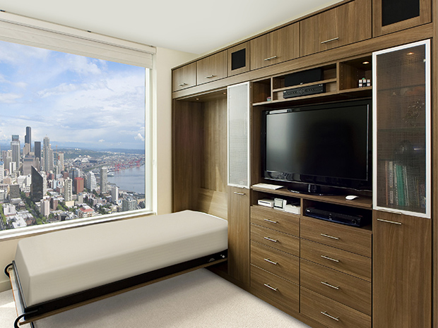 California Closets Baltimore - Murphy Bed Storage System