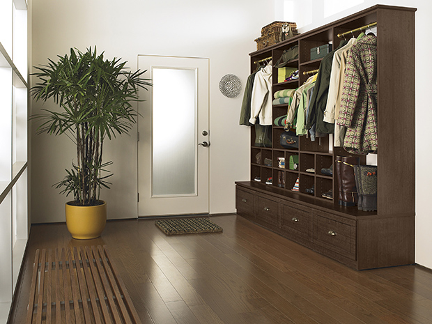 California Closets Columbus - Mudroom Storage System