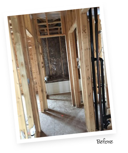 California Closets Client Story Mallory Before the Renovations