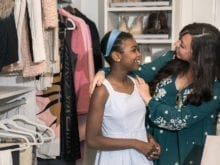 Damon and Wendy Commercial Client Story California Closets Atlanta Happy Clients in New Closet
