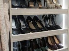 Trinh Vo Yezter Commercial Client Story Off White Shoe Storage Rack