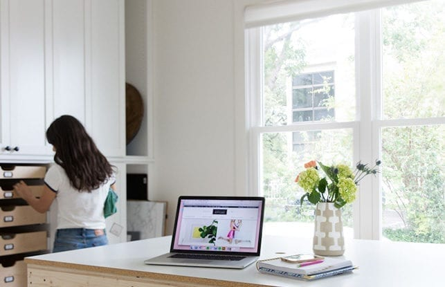 Organized Perfection for Author and Lifestyle Blogger Camille Styles