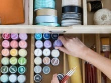 Camille Styles Craft Room Client Story - California Closets Austin