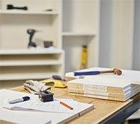California Closets Professional Job Installers Complete the Job Website Banner
