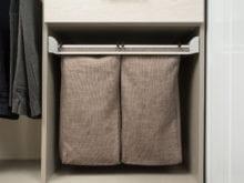 Jodie Parr Client Story Laundry Hamper Storage Integration System