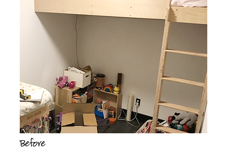 Erin Feher Client Story Before the Transformation Clutter