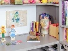 Erin Feher Client Story Dark Grey Desk Space for Creative Work