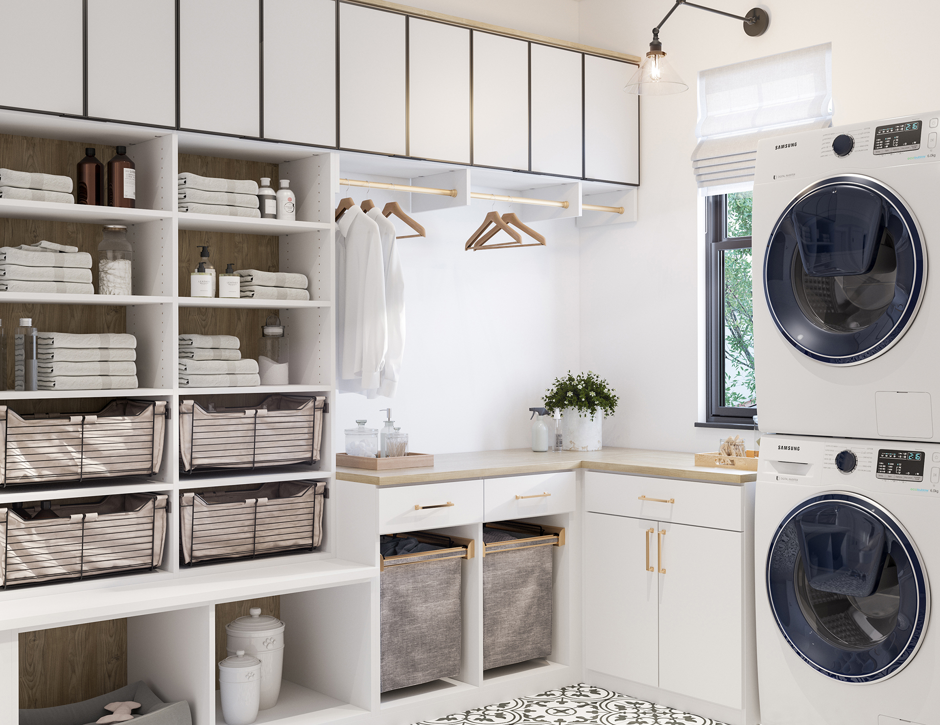 Laundry Room Cabinets & Storage Ideas  California Closets