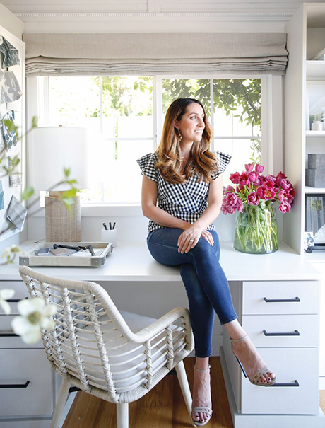 California Closets Crystal Palecek Happy Client with her new space