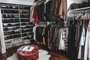 Creating a Wardrobe and Work Space for Fashion Blogger Luanna Perez-Garreaud