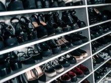 Luanna Perez Garreaud Shoe Storage Shelving for Dozens of Pairs