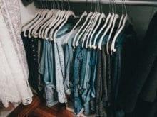 Luanna Perez Hanging Denim in New California Closets Storage Space