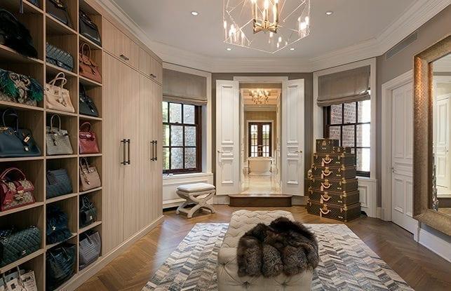 A Magnificent Dressing Room for Entrepreneur Marigay McKee