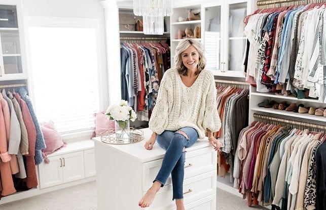 A Dream Dressing Room for Fashion Blogger Brittany Sjogren