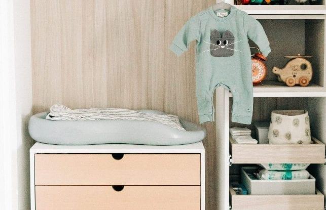 A Darling Nursery Closet for Blogger Emily Nolan