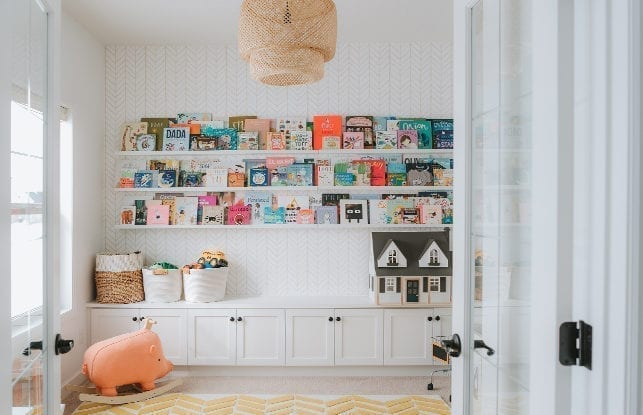 A Practical, Pretty Playroom for Blogger Sydney Gerten