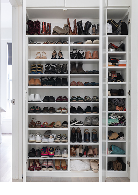Shoe Storage System by Jamie Rosen