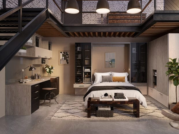 Stupendous Murphy Bed Designs Wall Bed Ideas California Closets Andrewgaddart Wooden Chair Designs For Living Room Andrewgaddartcom