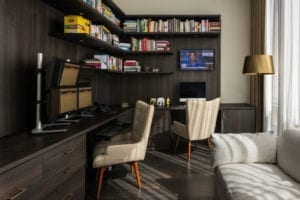 A Hard-working Home Office for A New York Couple