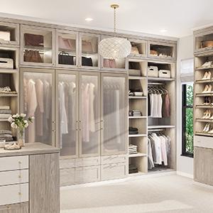 Bedroom Closet Organization Storage Solutions California Closets