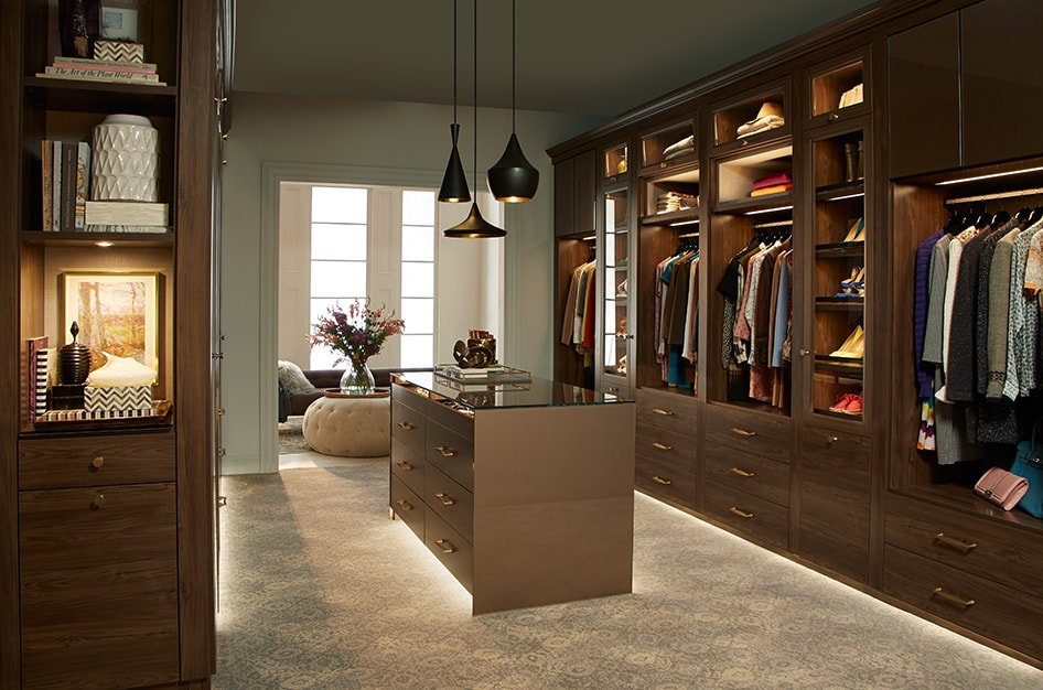 Sophisticated Walk-in | California Closets