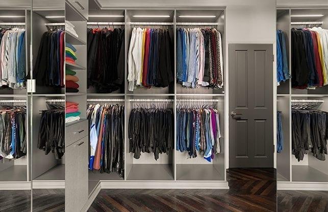 A Custom Closet Fit for Fashion Stylist Brad Goreski