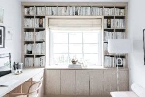 Serene, Streamlined Storage for Design Blogger and Author Anne Sage