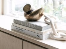 Books on Windowsill | California Closets