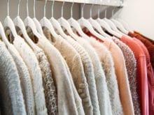 Vlogger Shea Whitney's collection of colorful sweaters | California Closets