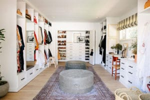 An Eclectic, Boutique-Inspired Closet for Fashion Designer Emily Current