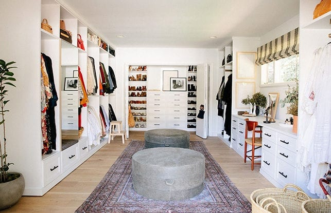 An Eclectic Boutique Inspired Closet For Fashion Designer Emily Current California Closets