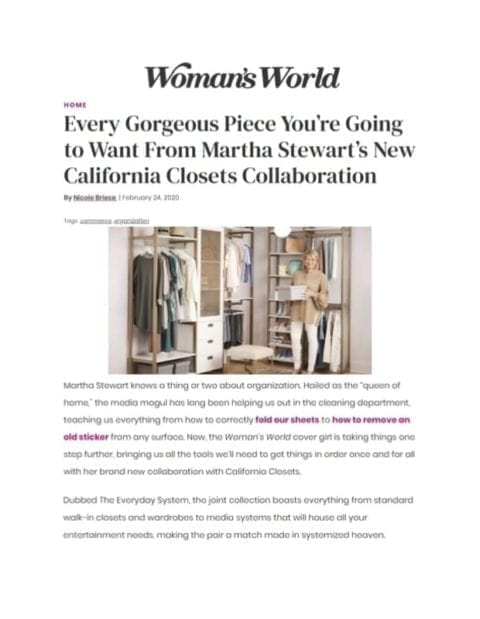 Woman's World February 24 2020 article