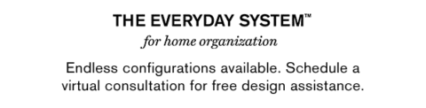 The Everyday System for home organization