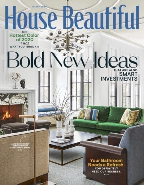 House Beautiful March 2020 cover