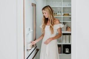 A Clean Custom Pantry for Interior Designer Sarah Sherman Samuel