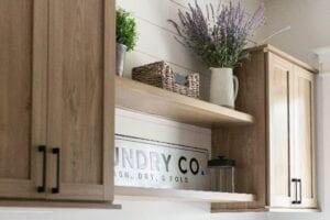A Modern Farmhouse Laundry Room for Eva Shockey