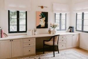 A Dream Home Office for Entrepreneur Jaclyn Johnson